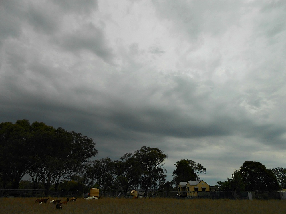 stormy Queensland sky